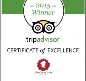 The Oliver Twist is voted one of the best restaurants in Guyhirn, Wisbech
